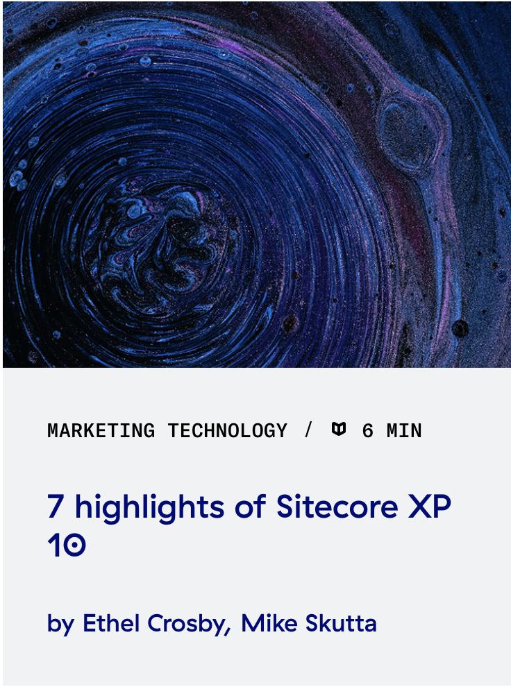 7-highlights-of-Sitecore-XP-10